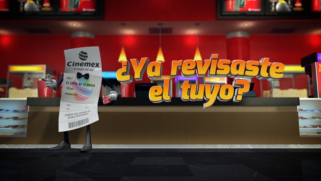 TICKETÍZATE CINEMEX 2018